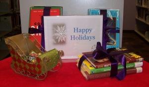 Happy Holidays table
