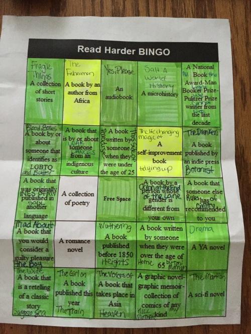 2015 Read Harder